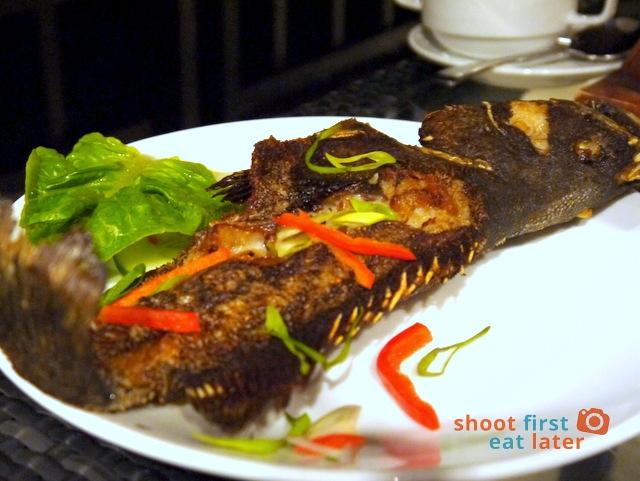 Balesin Fish Fun - fried lapu lapu P350