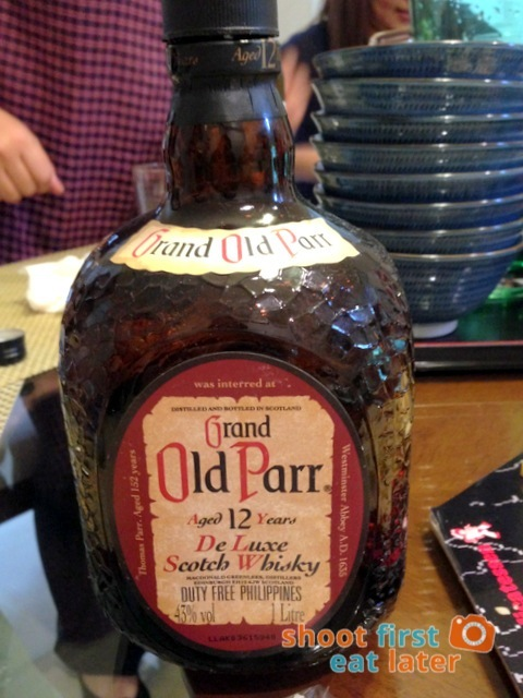 happy happy- Grand Old Parr