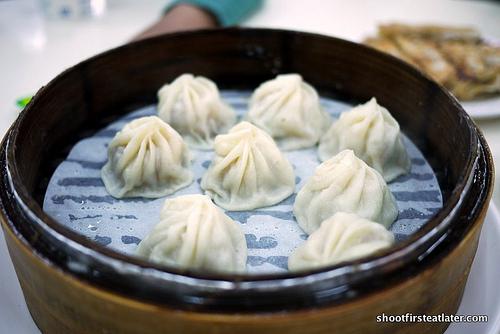 Shanghai soupy dumplings