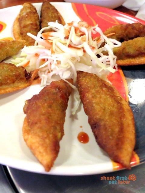 Han Guuk Guan- guun maan du - fried Korean dumplings A$8 (8 pcs)