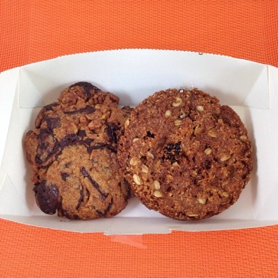Wildflour's Choco Chip and Gluten Free Oatmeal Cookies