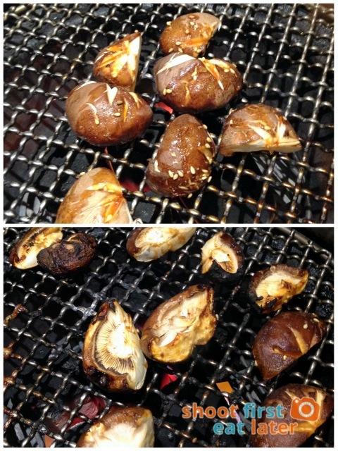 Gyumon Yakiniku Restaurant- Shiitake mushrooms P250-001