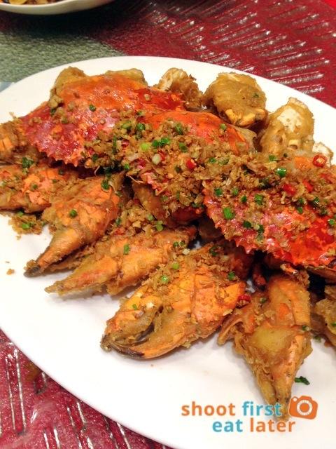 Choi Garden - fried garlic crab