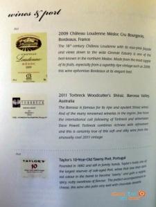 SQ 919 A330-300 Mnl-Sin- dinner menu business class-003