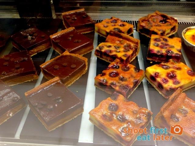 Eric Kayser Hong Kong -  brasilia tart K$38 cherry clafoutis tart HK$38