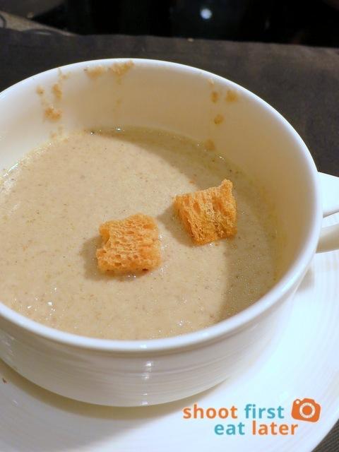 Spiral Buffet - mushroom soup