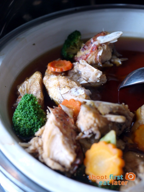 Inagiku, Makati Shangri-La- boiled salmon head with soya sauce