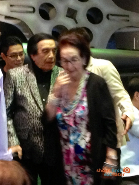 Greenhills Promenade Cinemas with Dolby Atmos - Kuya Germs and Gloria Romero