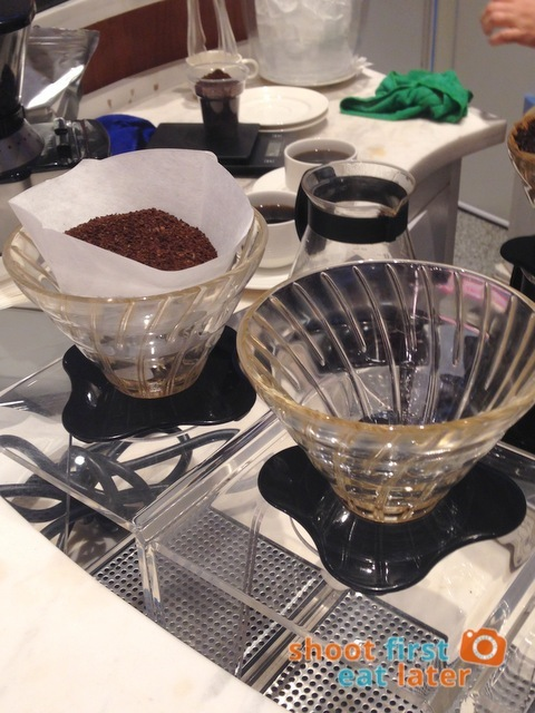Philippine Airlines Mabuhay Lounge- pour over coffee-002