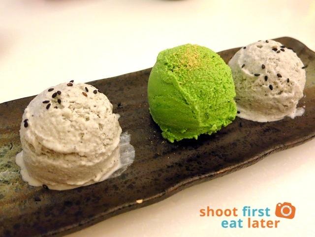 Ginza Bairin Philippines- ice cream trio P235
