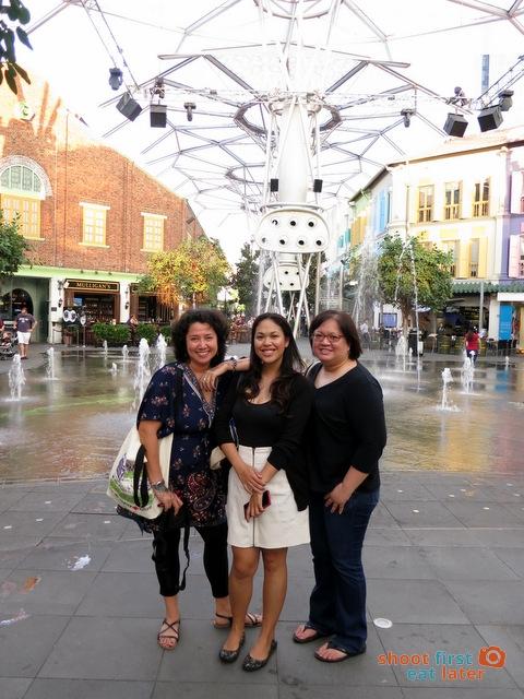 Alya, Monique and I