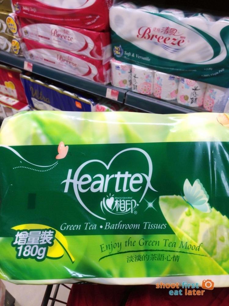 green tea toilet paper