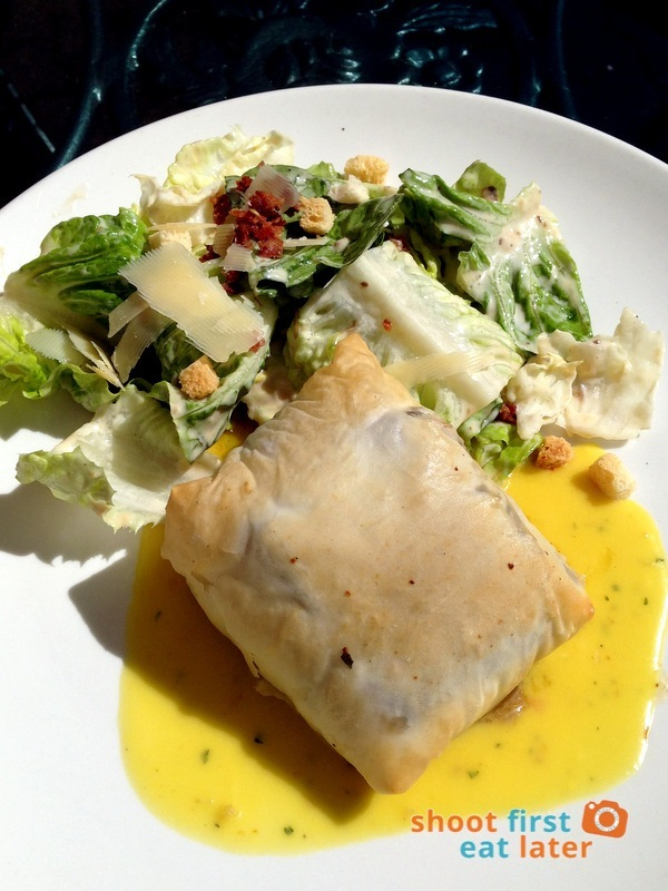 Le Chef at The Manor, Baguio- Baked Chilean Sea Bass in Filo Pastry