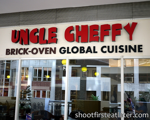 Uncle Cheffy Brick-Oven Global Cuisine