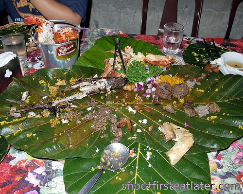 Pension Ivatan platter- after