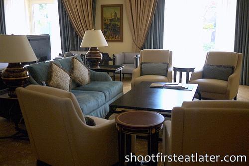 Venetian Macau - Verona Suite- living room