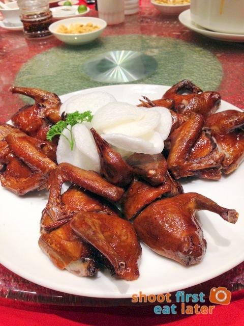 Choi Garden - fried pigeon