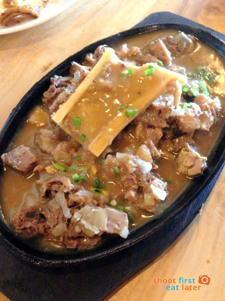 Sarsa Kitchen+Bar- Sizzling Kansi (Bulalo or Beef Shank with Bone Marrow) P350