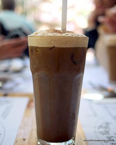iced ruins coffee