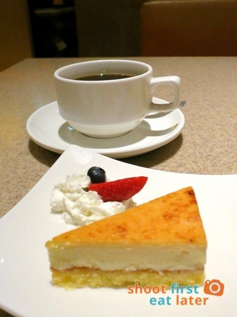 Inaniwa Udon Nabe- brulee cheesecake & coffee