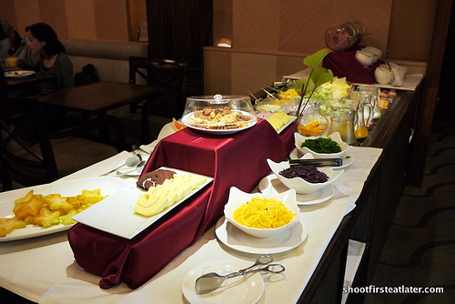 breakfast at Hsuan Mei Hotel