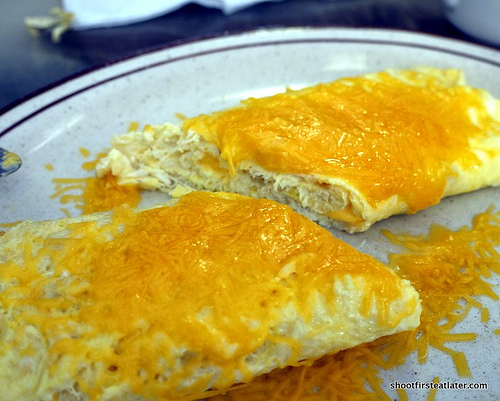 Blue Crabmeat Omelet w/ cheese