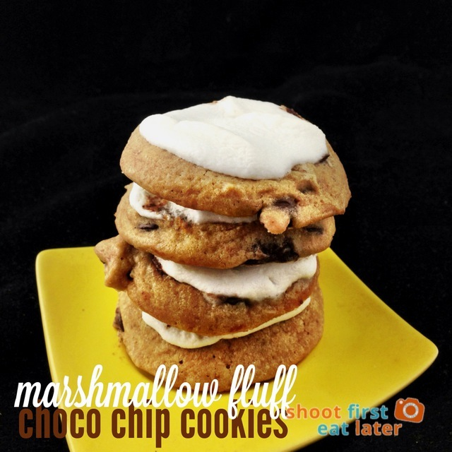 marshmallow fluff choco chip cookies