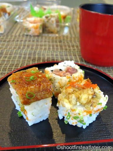 Omakase sushi rolls