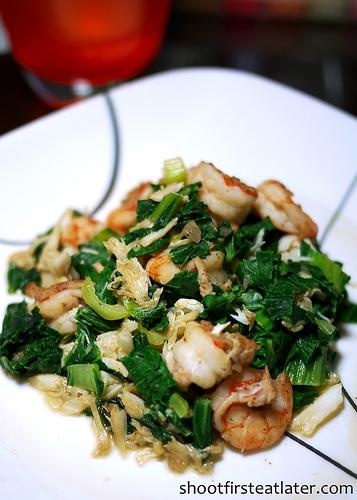 Cohen Lifestyle Seafood Meals- shrimp & bok choy