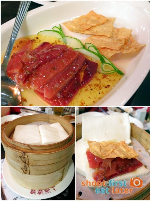 stewed Yunnan ham with honey sauce HK$92