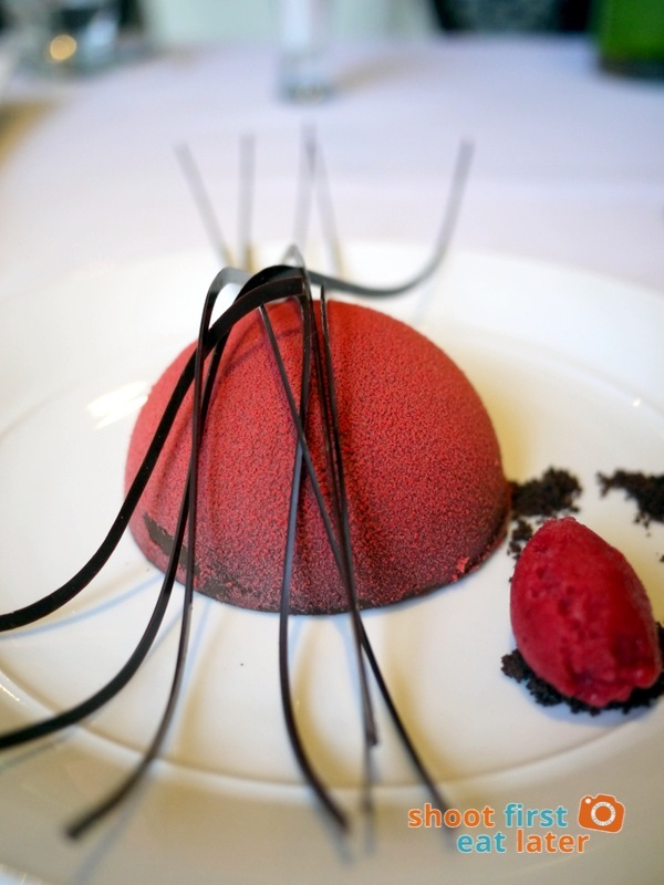 Mandarin Oriental Manila - The Tivoli- Richard Toix Degustation Menu - Black Forest Cake 2014