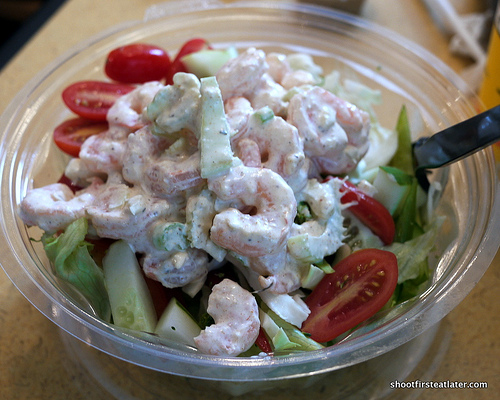 Booeymonger's shrimp salad