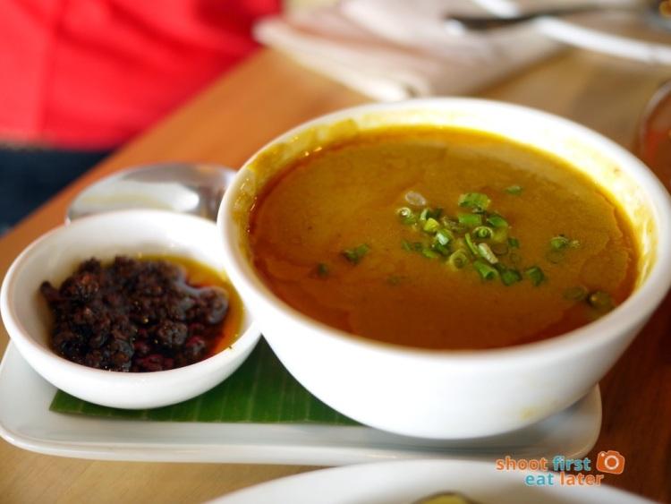 Sarsa Kitchen+Bar- Kare Kare sauce + Ginamos (Negrense Bagoong)