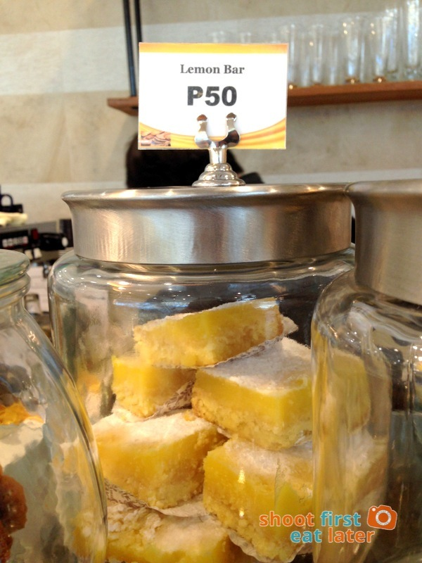 Lucca Bakery (SM Mega Fashion Hall)- Lemon Bar P50