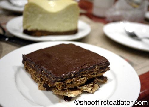 dark chocolate sans rival