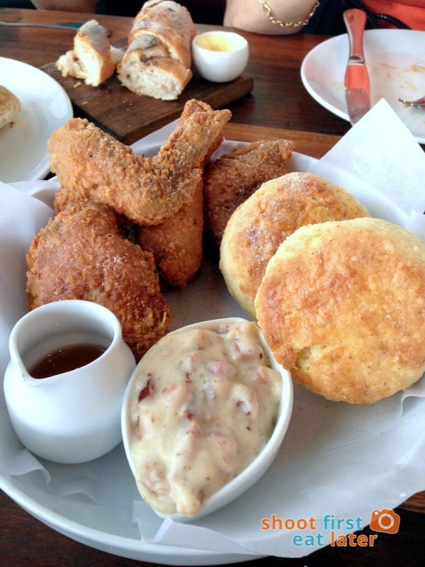 Wildflour Cafe + Bakery (Fort Bonifacio)- Fried Chicken and Biscuits P690