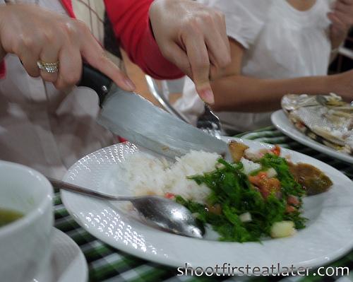 dinner at Batanes resort