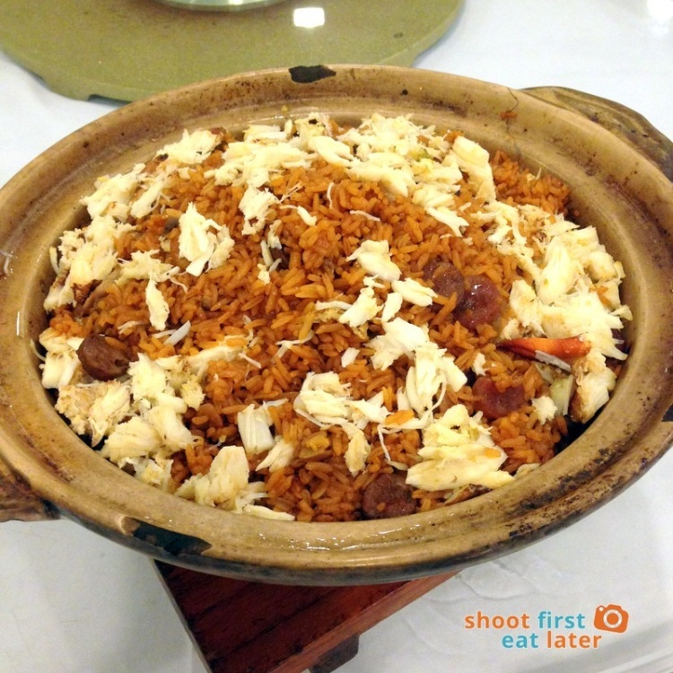 Century Seafood Restaurant- Crab and Chinese Sausage Fried Rice