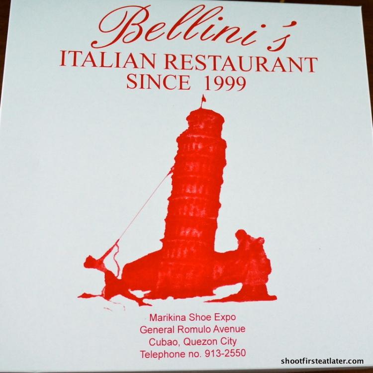 Bellini's Orange Cake