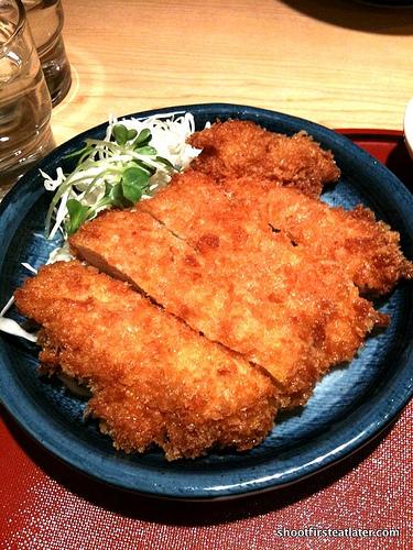 tonkatsu or pork cutlet