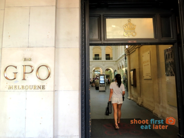 Melbourne's GPO-002