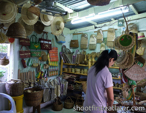 souvenir store at Basco airport-1