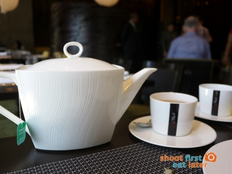Marco Polo Hotel Ortigas Cucina Restuarant Buffet- Ronnefeldt tea
