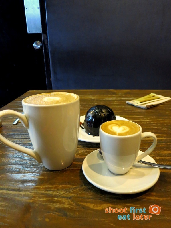 Kuppa BGC- Latte P95 and Ben's Cappucino P80