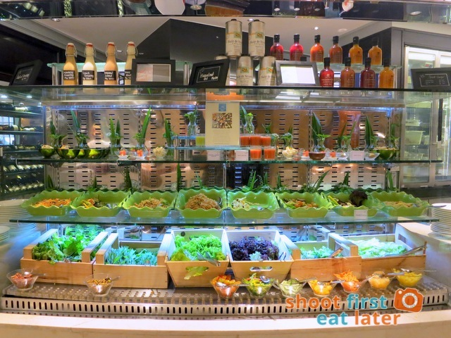 Spiral Buffet- salad bar