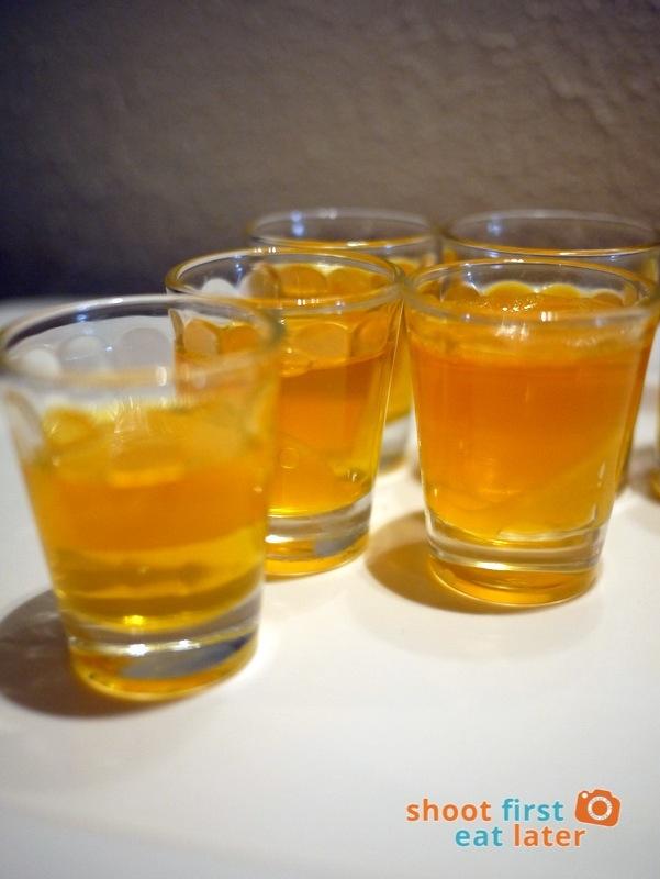Alba Restaurante Español - Peach Jello