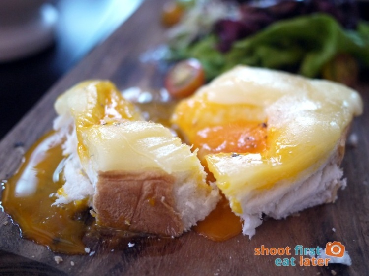 Refinery at Rockwell- Shirred Truffled Eggs with Toast