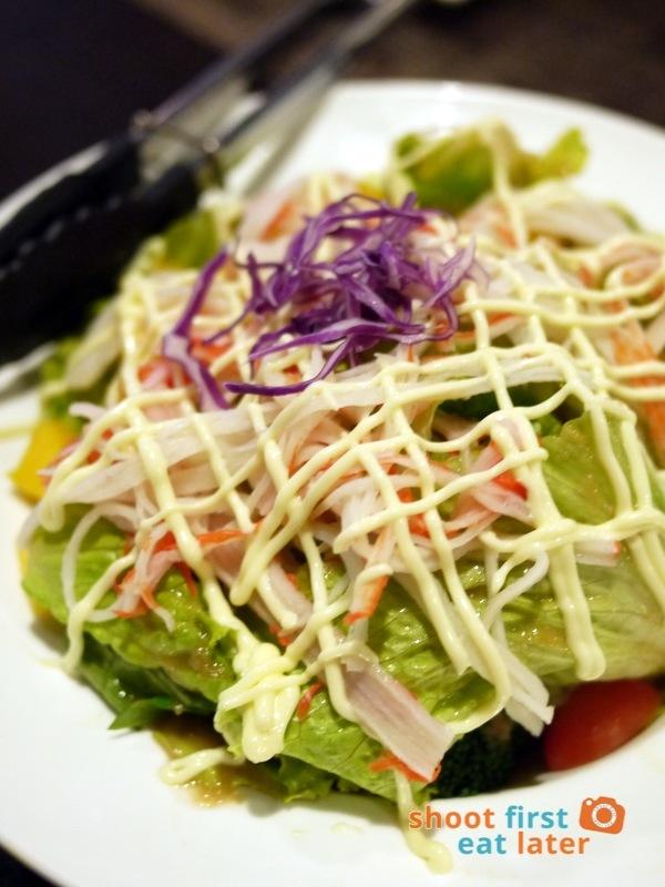 Toki Japanese REstaurant- kani salad P260