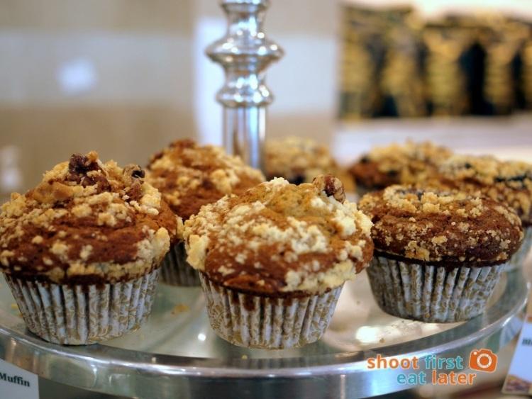Lucca Bakery (SM Mega Fashion Hall)- Blueberry Crumb Muffin P50, Banana Crumb Muffin P47