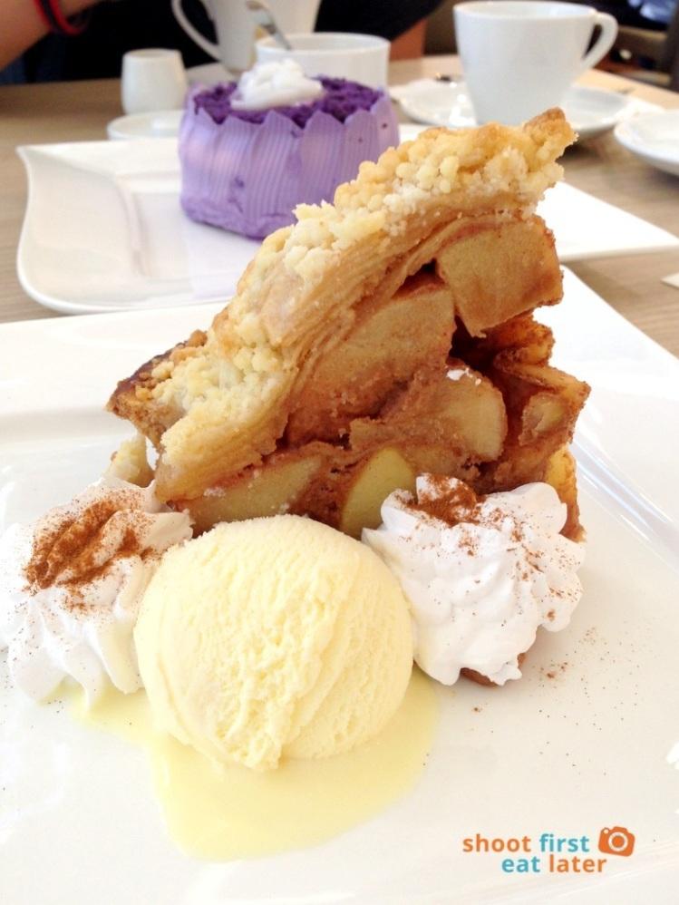 Mentoré Coffee + Bar by UCC- apple crumb pie P185